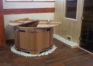 bain japonais ofuro en bois fabrique en france o39biozz With bain en bois