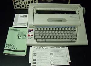 Collectibles 4 U  Smith Corona Na3hh Electric Typewriter Spell