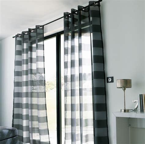 rideaux de cuisine moderne voilage castorama noir polyester photo 1 10 un voilage