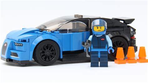 Lego moc bugatti veyron super sport in minifig size. LEGO Speed Champions Bugatti Chiron 75878 Speed Build and Review - YouTube