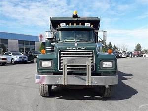2002 Mack Rd688s Tri Axle Dump Truck