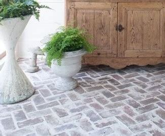 Brick tile products for brick flooring