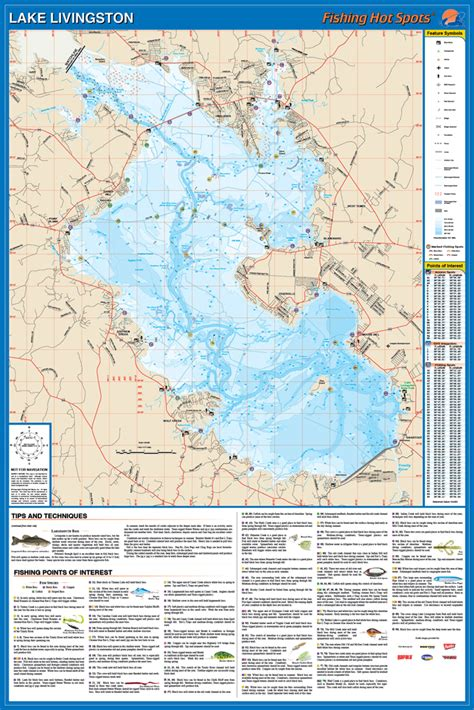 Learn more about fishing and the difference. Livingston Fishing Map, Lake