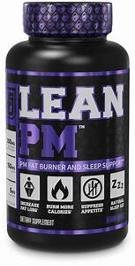 Lean Pm Night Time Fat Burner  Sleep Aid Supplement   U0026 Appetite Suppressant For Men And Women