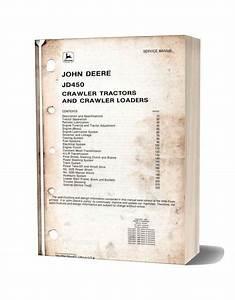 John Deere Crawler Loader Jd450 Service Manual