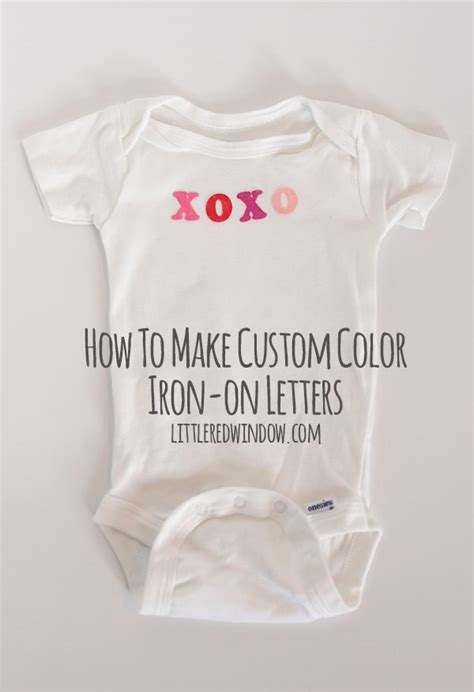 how to make iron on letters how to make custom color iron on letters a s