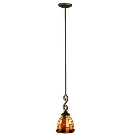 dale tiffany baroque 1 light antique bronze hanging mini