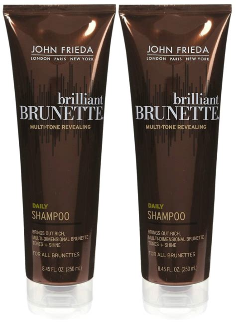 john frieda brilliant brunette shampoo shespeaks