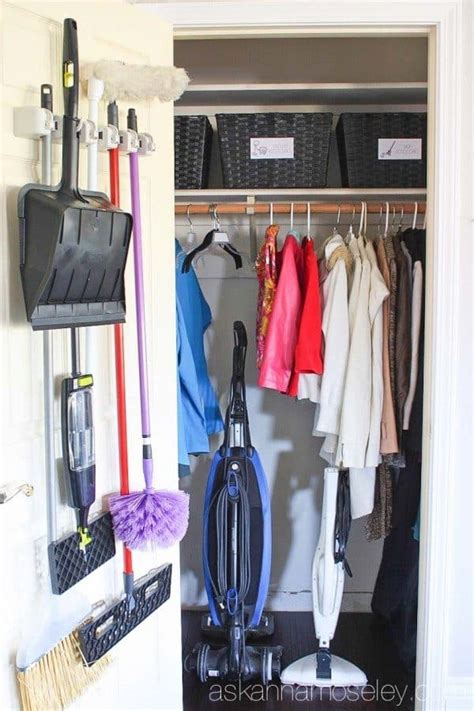 How To Organize The Entryway Closet In 30 Minutes Or Less