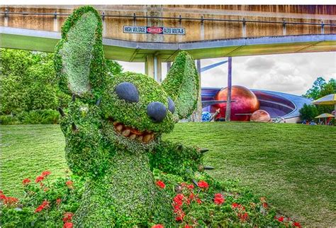 epcot flower and garden festival photos wdwmagic