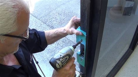 hes  electric strike lock installation youtube