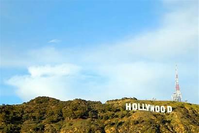 Hollywood Sign Wallpapers Night Backgrounds Wallpapersafari Hipwallpaper
