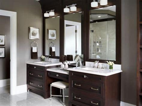 Bathroom Vanities With Makeup Vanity by Custom Bathroom Vanities With Makeup Area Bathroom