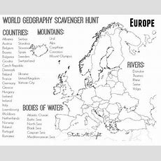 Europe Physical Map Worksheet Printables Europe Geography Worksheets Surveillanceandeveryday 591