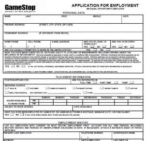 gamestop application printable version 2013 gamestop