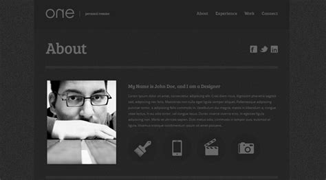 30 one page responsive html5 templates
