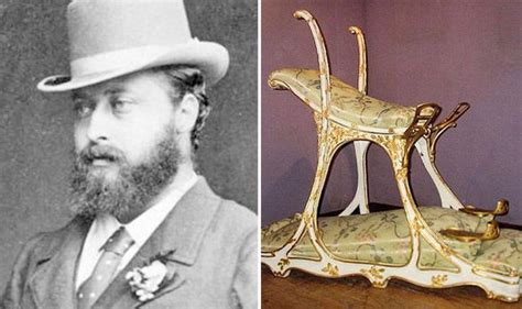 King Edward Vii Chair by Countdown To Coronation Day Royal News Daily Express