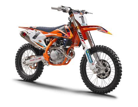 They're Here! Ktm 2017 Factory Edition Models