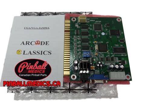 60 In 1 Classic Arcade Multigame Jamma Pcb Pinball Medics