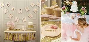 Decoration Anniversaire Fille : anniversaire rose et glitter le blog de modern confetti ~ Teatrodelosmanantiales.com Idées de Décoration