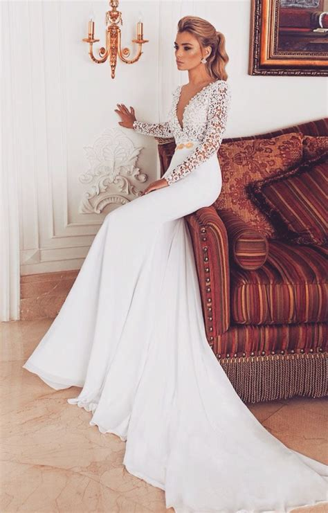 581 Best Images About Wedding Dresses With Sleeves On