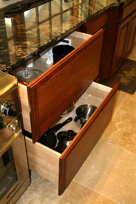 pots  pans drawer  island kitchens inexpensive