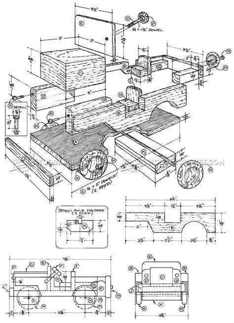 wooden toy jeep plans woodarchivist