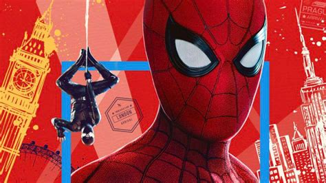spider man   home imax poster revealed
