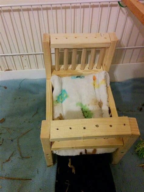 diy wooden guinea pig bed   guinea pig guinea