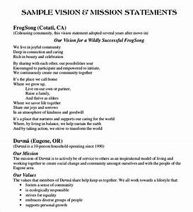 Skill Ideas For Resume Vision And Mission Statement Example Business Mission