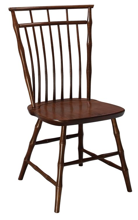 birdcage windsor side chair amish furniture connections