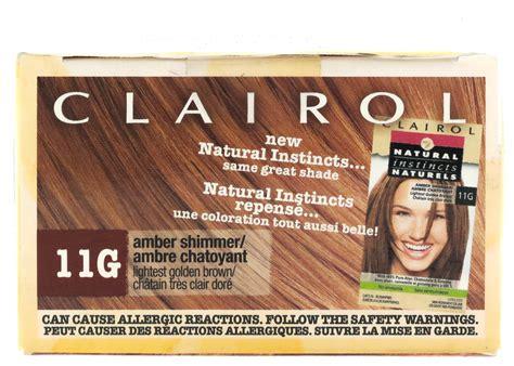 Clairol Natural Instincts Hair Color 11g (amber Shimmer
