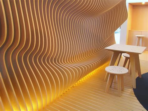 image result  parametric curved wall surfaces organic