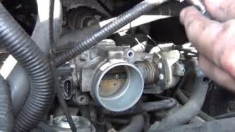 4 cylinder cadillac cts how to clean a throttle and idle air valve iac