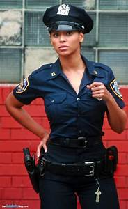 Sexy black girl in uniform jodi