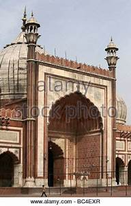 Inside the Friday Mosque or Jama Masjid in Fatehpur Sikri ...