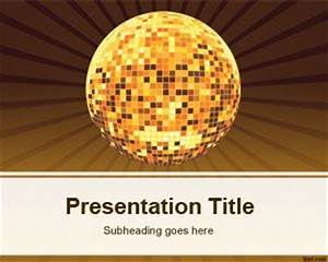 Creating Powerpoint Template Free Disco Powerpoint Template