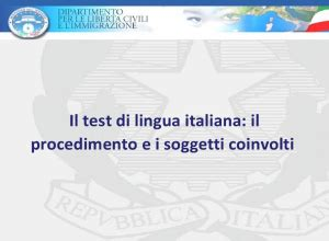 Testitaliano Interno It Risultati by Test Di Italiano Integrazione