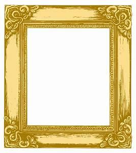 Antique gold frame 05 vector Free Vector / 4Vector
