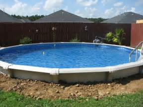 Installing Above Ground Pool