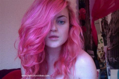 Carnation Pink Hair Colors Ideas