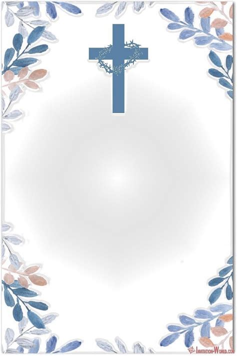 First Communion Invitation Cards Invitation World