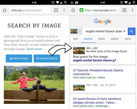 image search android how to do image search on your mobile phone