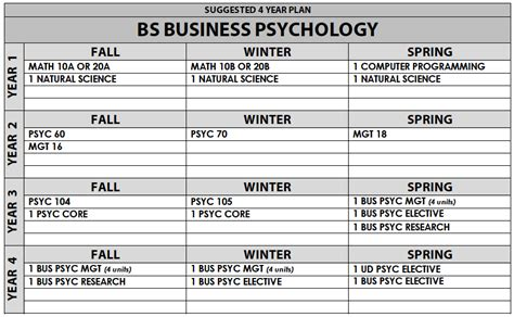 business psychology bs