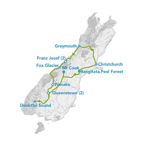 10 Day South Island Winter Explorer Tour Planit Nz Travel