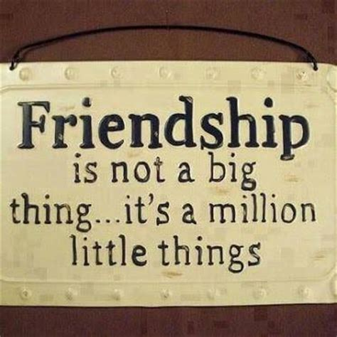 Friendship Is A Million Little Things Pictures, Photos ...