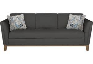 cindy crawford home park boulevard gray sofa sofas gray