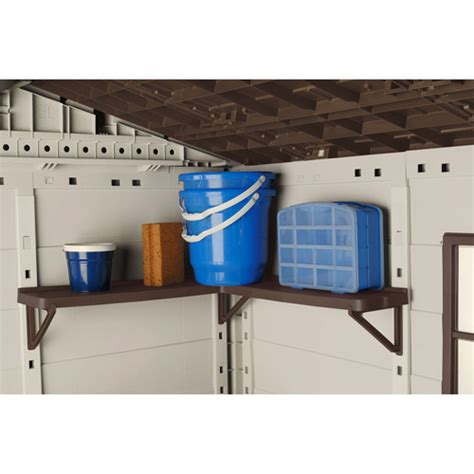 Suncast Shed Bms5700 Shelves by Suncast Shed Corner Shelves Walmart