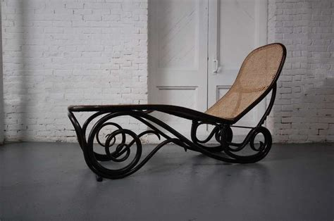 chaise thonet n 14 thonet chaise lounge at 1stdibs