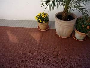 Boden Für Terrasse : kunststoff boden belag auf terrasse oder balkon mit bergo xl terrasse in 2019 dachterrasse ~ Orissabook.com Haus und Dekorationen